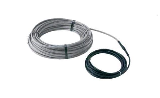 DEVIiceguard. Саморегулирующийся нагревательный кабель с холодным концом для систем снеготаяния на кровле DEVI-IceguardTM 18 RM 50м мощность 900