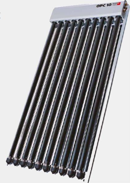 EURONOM.Солнечная панель с вакуумными трубопроводами ExoSol® OPC