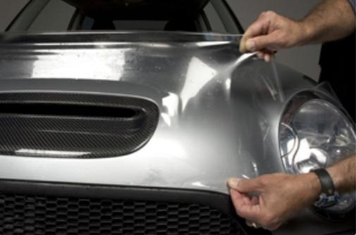оклейка автомобиля защитной пленкой