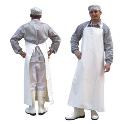 Фартук передний общего пользования водонепроницаемый для мясной промышленности.
