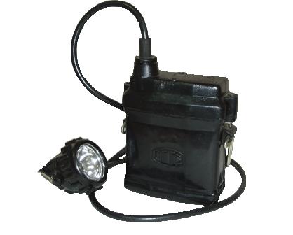 Светильник шахтный СГГ5 взрывозащищенный головной для индивидуального освещения рабочего места в подземных выработках угольных шахт, опасных по газу и пыли любой категории.