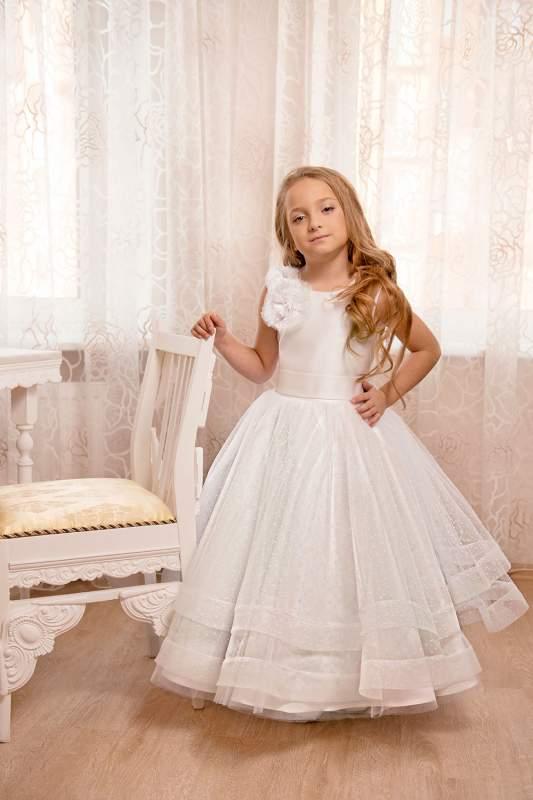 Белые бальные платья купить