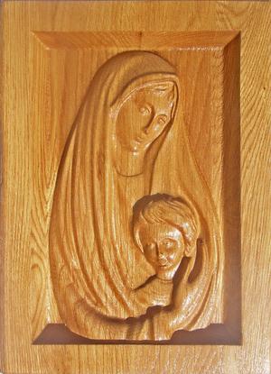 """Купить Икона """"Богородица с Иисусом дитятем"""""""