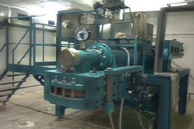 Macaroni (pasta) equipment capacity of 750 kg / h