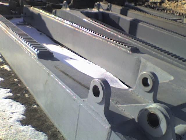 Запчасти к экскаваторному и дробильно-розмольному оборудованию  Балка рукояти ЭКГ-5