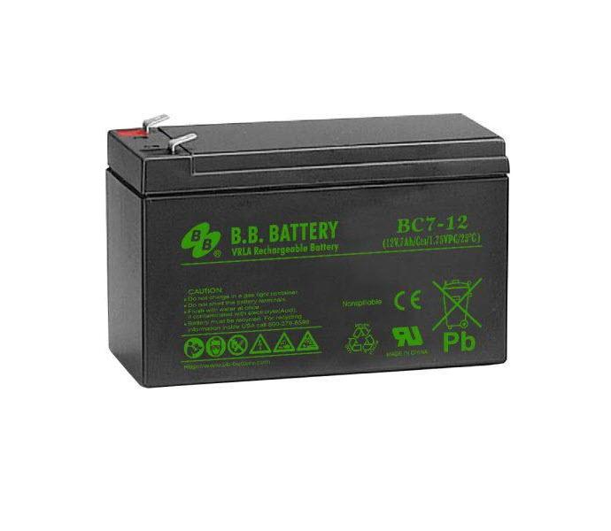 Аккумуляторная батарея BC 17-12 свинцово-кислотная