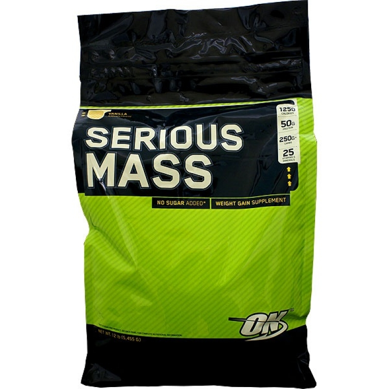 Гейнер Serious Mass 5,45 кг Optimum Nutrition
