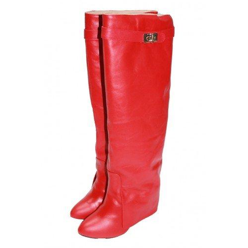 Червоні чобітки купити в Київ 2a8670a4c5de8