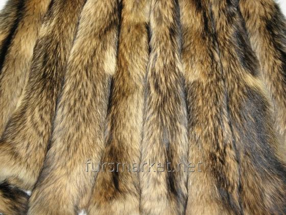 Skins of a raccoon Polish, Chinese, Ukrainian