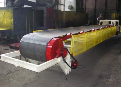 Купить Конвейер ленточный, оборудование по перемещению сыпучих материалов