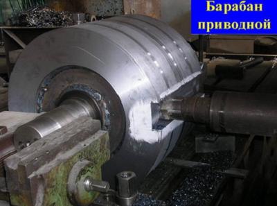 Купить Барабан приводной, оборудование по перемещению сыпучих материалов