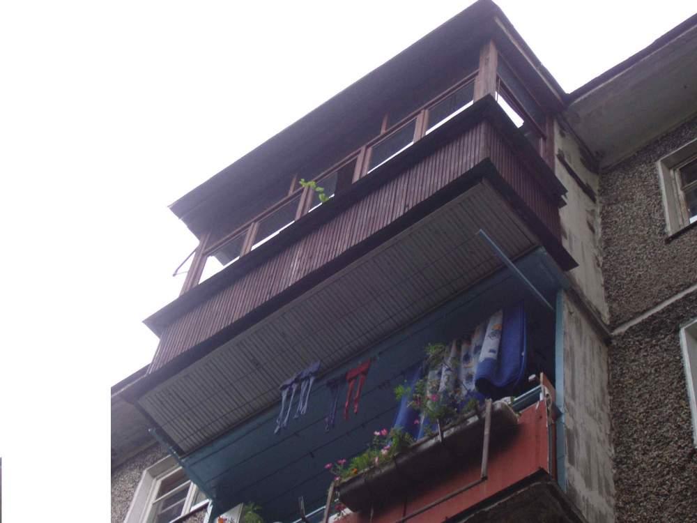 Покрыть крышу балкона Чернигов