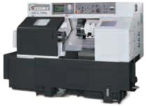 The turning capstan lathe with ChPU GOODWAY of fashions. GCL-2B the Goodway GCL-2B Lathe with ChPU FANUC 0-iTD