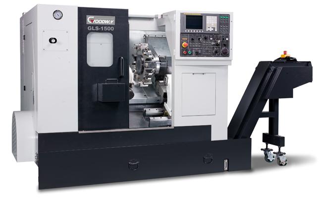 Turning multi-purpose GOODWAY machine of fashions. GLS-1500 with ChPU FANUC 0-iTD/Mitsubishi the Lathe with ChPU GOODWAYGLS-1500