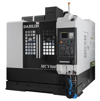 Вертикальний обробний центр DAHLIH модель MCV-860 зі ЧПУ FANUC 21i-Mb