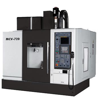Вертикальный обрабатывающий центр Dahlih модель MCV-720 с ЧПУ FANUC 21i-MB