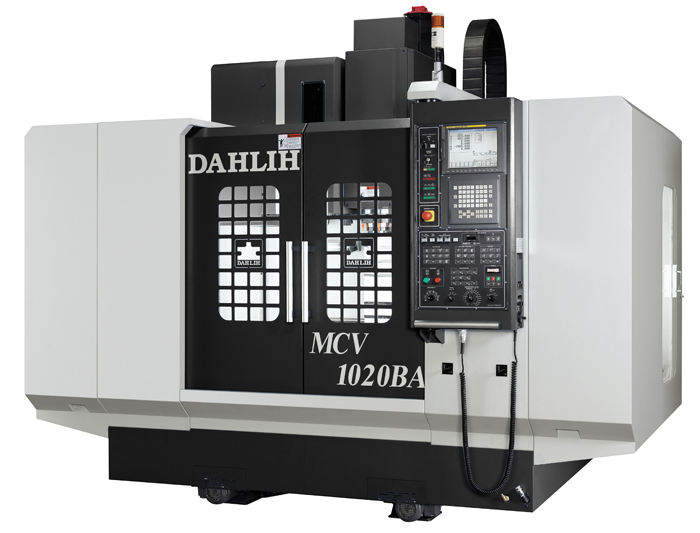 The vertical processing DAHLIH center the MCV-1020 model with ChPU FANUC