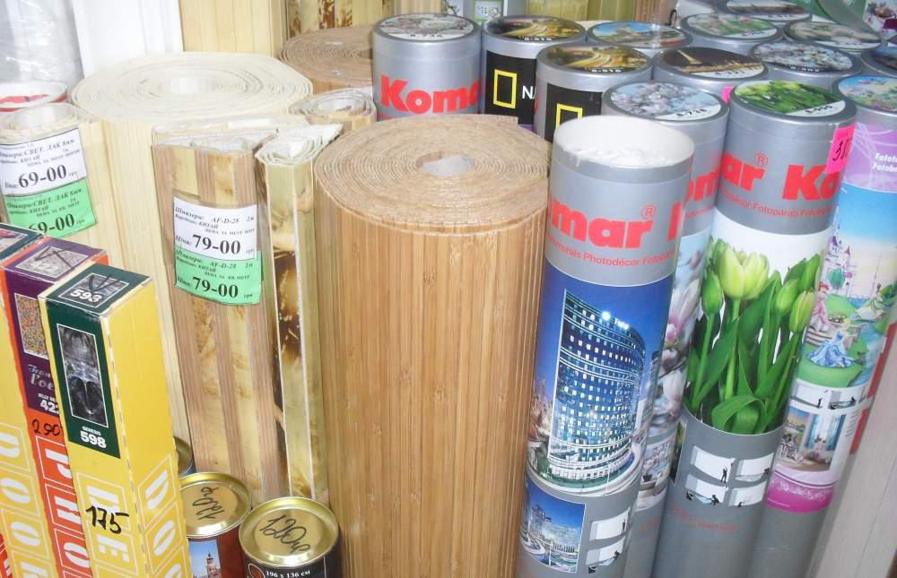 Купити Бамбукові шпалери