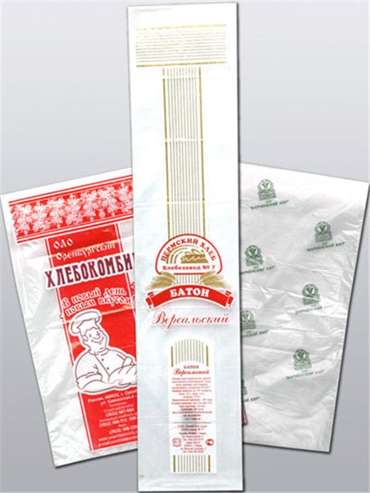 Полиэтиленовые пакеты для хлеба