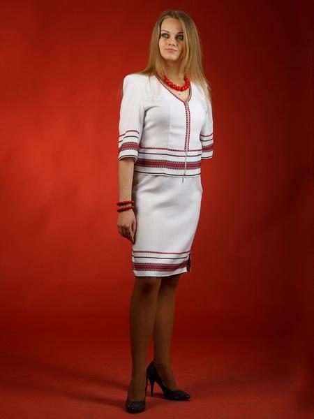 Вишитий жіночий костюм - вишиванка ЖК 32 купити в Тернопіль b2b53c4edfd58