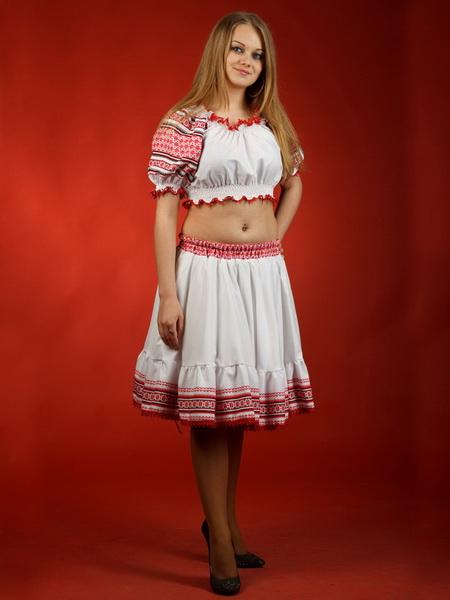Вишитий жіночий костюм - вишиванка ЖК 30 купити в Тернопіль 2f2c571684a03