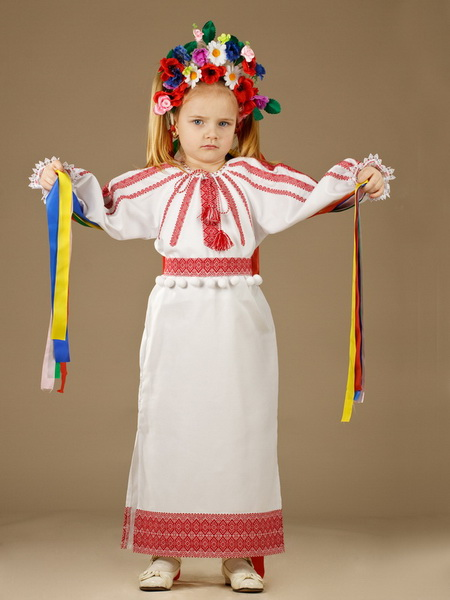 Buy The children's embroidered ZhP 22-11 dress