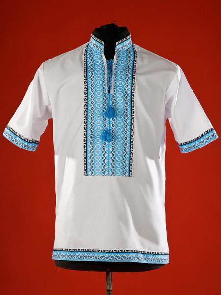 Детская рубашка-вышиванка ЧС 19-04s