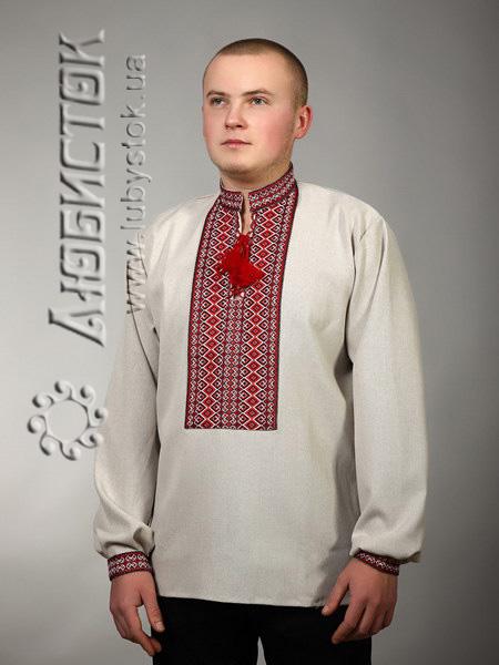 Купить Мужская рубашка-вышиванка ЧС 2-64L