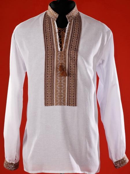 Купить Мужская рубашка-вышиванка ЧС 2-14