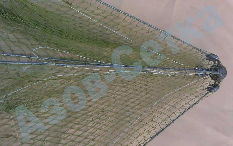 Зонт-хапуга (улучшенный), 1,4х1,4 м, ячейка 35/30 мм