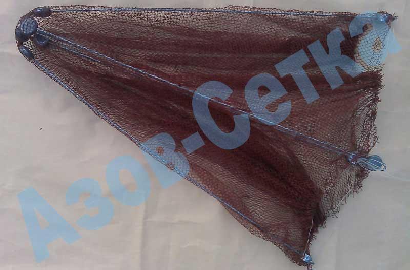 Рыболовный зонт-малявочница, 1х1 м