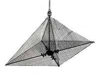 Зонт-хапуга (улучшенный), 1,4х1,4 м, ячейка 25/20 мм