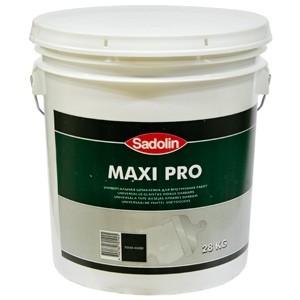Купить Шпаклёвка MAXI PRO-Универсальная шпаклевка для внутренних работ..Готова к использованию.Легко наносить на поверхность.Прочная сцепляемость с базовой поверхностью 17л/420,42грн