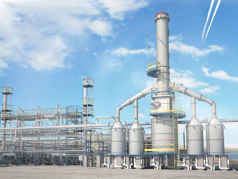 Установка ароматизации прямогонной бензиновой фракции
