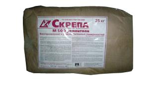 Скрепа, сухая смесь для восстановления и ремонта бетонных поверхностей