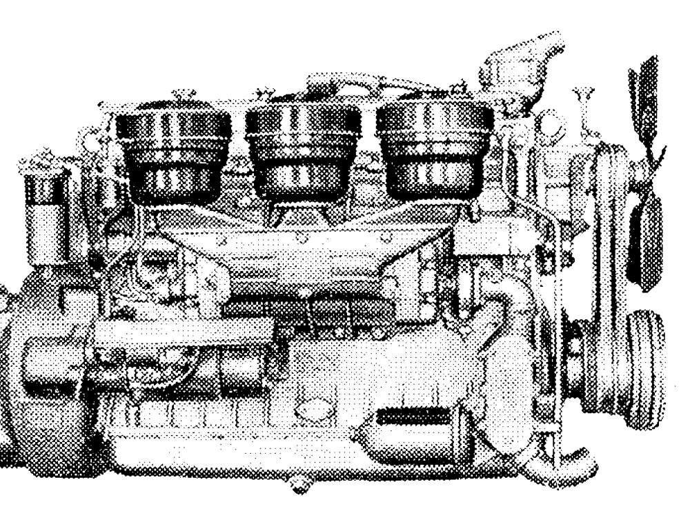 Купити Двигун ЯАЗ-206 зі зберігання