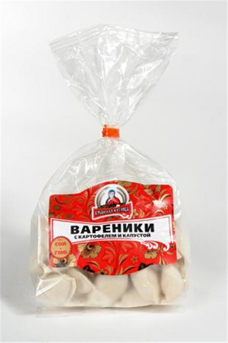 Упаковка для вареников