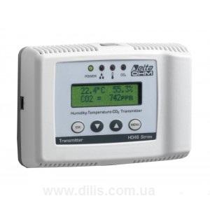 Трансмиттер влажности, температуры и CO2 - DELTA OHM HD-46.17BDTSR