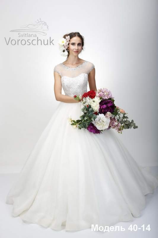 "Wedding dress, Svitlana Voroschuk ™ Collection ""Flowers of Desire"""