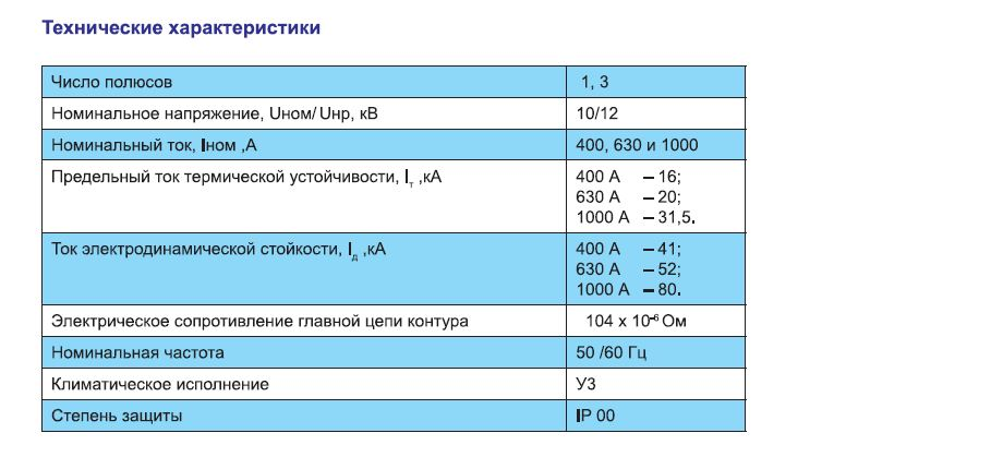 Купить Разъединители РВ, РВО,РВЗ, РВФЗ, РЛВО, заземлители ЗР 400A, 630A и 1000A, 10кB
