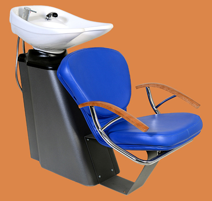 """Buy Hairdresser's sink """"Niagara"""" with chair """"Ooze"""