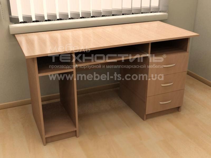 Стол компьютерный с ящиками (П 561)