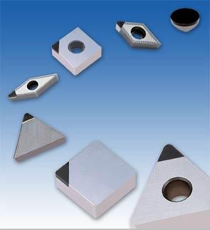 Пластины твердосплавные из кубического нитрида бора CBN Iscar