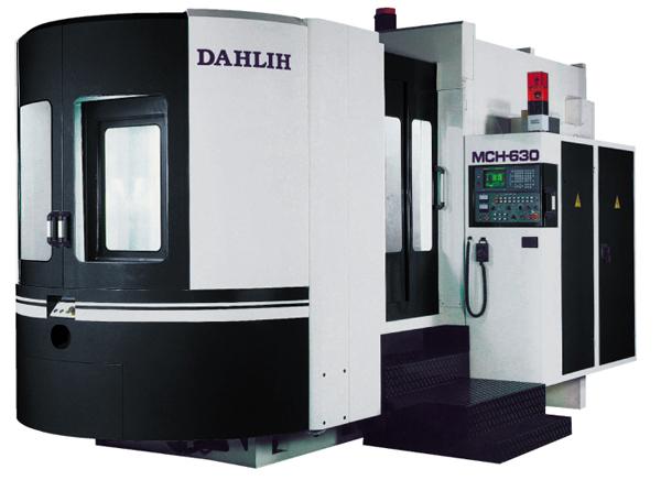 Купити Горизонтальний обробний центр DAHLIH модель MCH-630 зі ЧПУ Fanucавтоматический змінник паллет Акція! Знижки до 20%