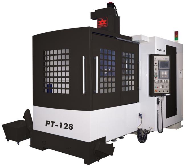 Обрабатывающие центры 5-ти осевые Dahlih портального типа с ЧПУ серия PT