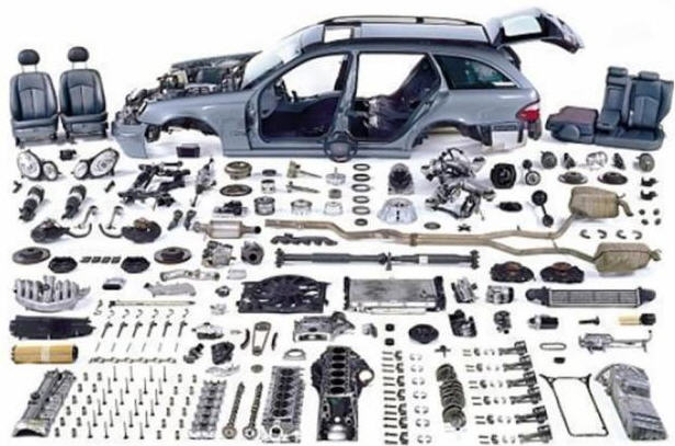 Spare parts to foreign cars