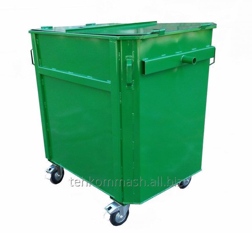 Buy The EKP-1,0 trash bin under the eurogarbage truck