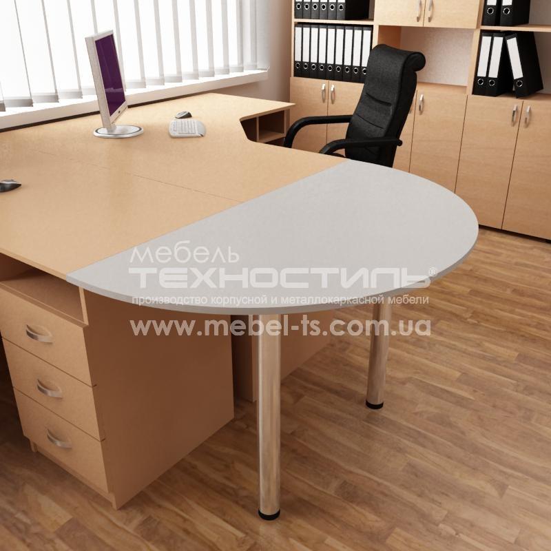 Стол офисный приставной (П 712/П 714)