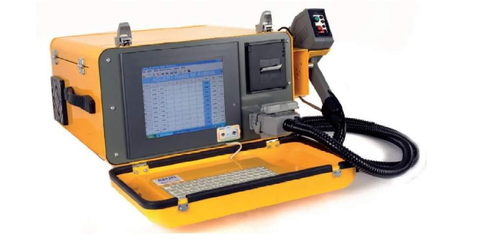 Mobile spectrometer optiko-emisionny spark MetalScan series A