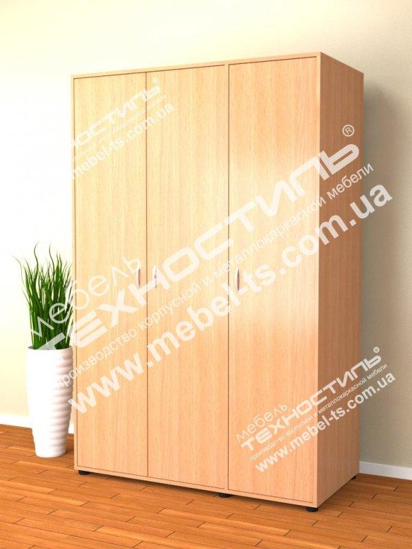 Шкаф для одежды и документов комбинированный (Б 125)